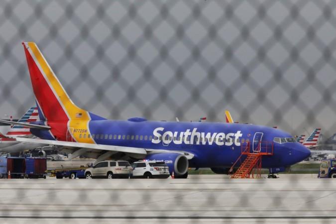 A Southwest Airlines jet