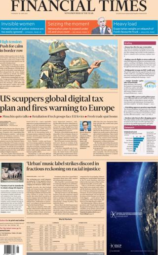 Financial Times 18 June