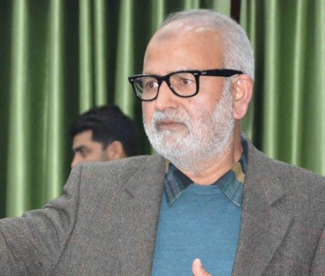 PDP leader Naeem Akhtar