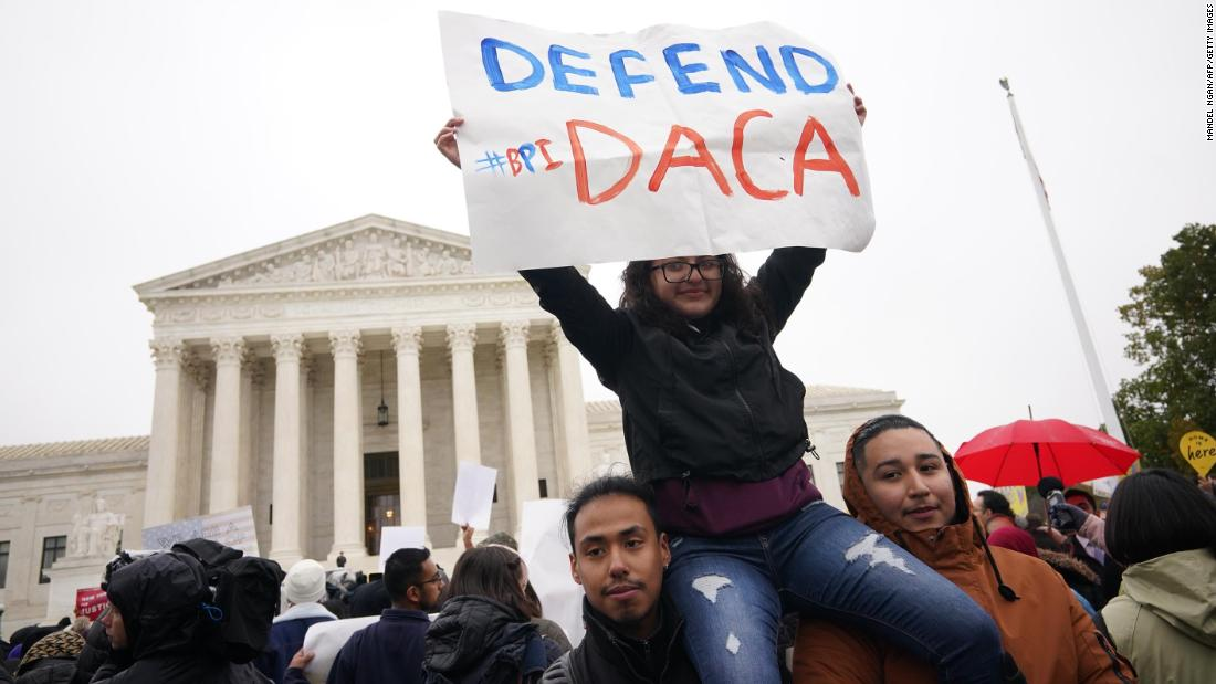 Supreme Court blocks Trump from ending DACA