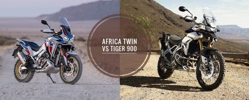 2020 Honda Africa Twin vs Triumph Tiger 900 Rally Pro