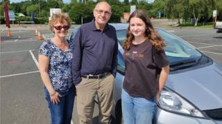 Higher education teacher Thomas Despositos, a German national, with wife Julia Turrell and daughter Isabella