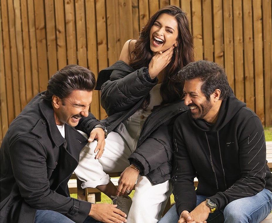 Ranveer Singh, Deepika Padukone, Kabir Khan