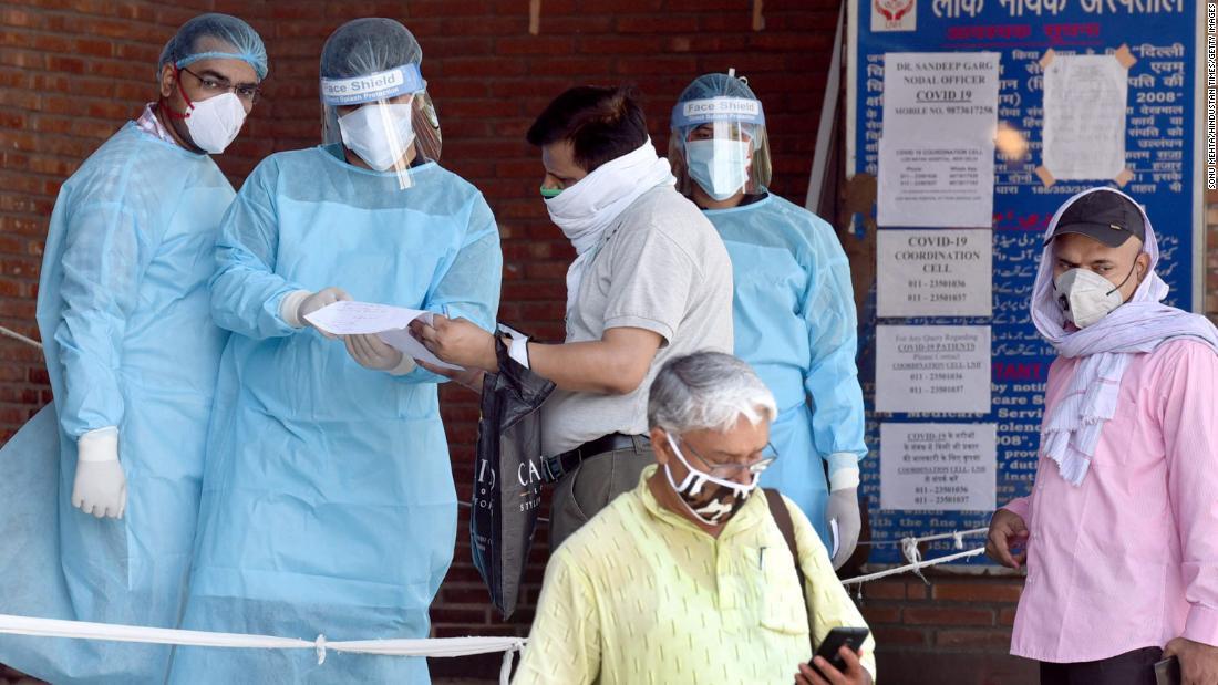 As Delhi becomes India's coronavirus capital, its hospitals are struggling to cope