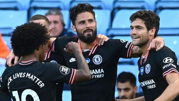 Aston Villa 1-2 Chelsea: SEcond-half fightback gives Chelsea win
