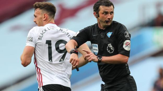 Aston Villa 0-0 Sheffield United: Goalless draw on Premier League return