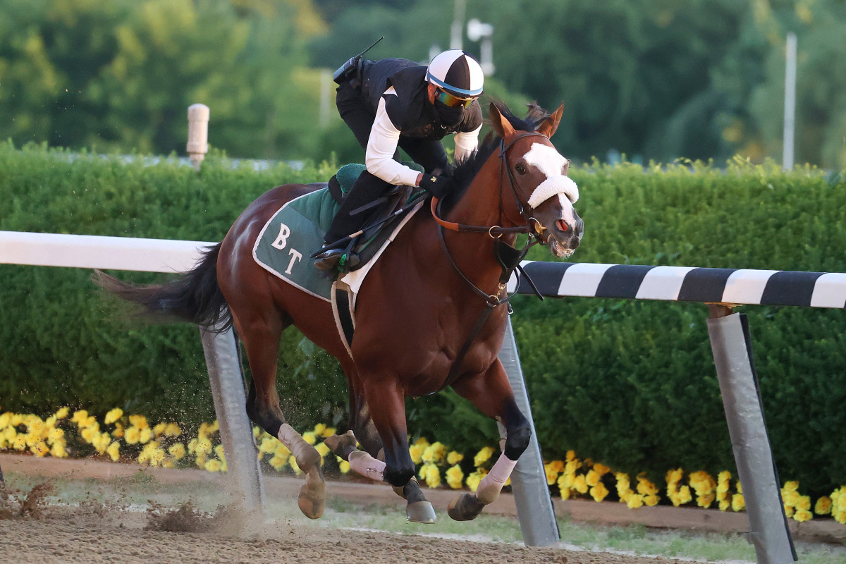 Belmont Stakes gives horse racing its second as only activity in town