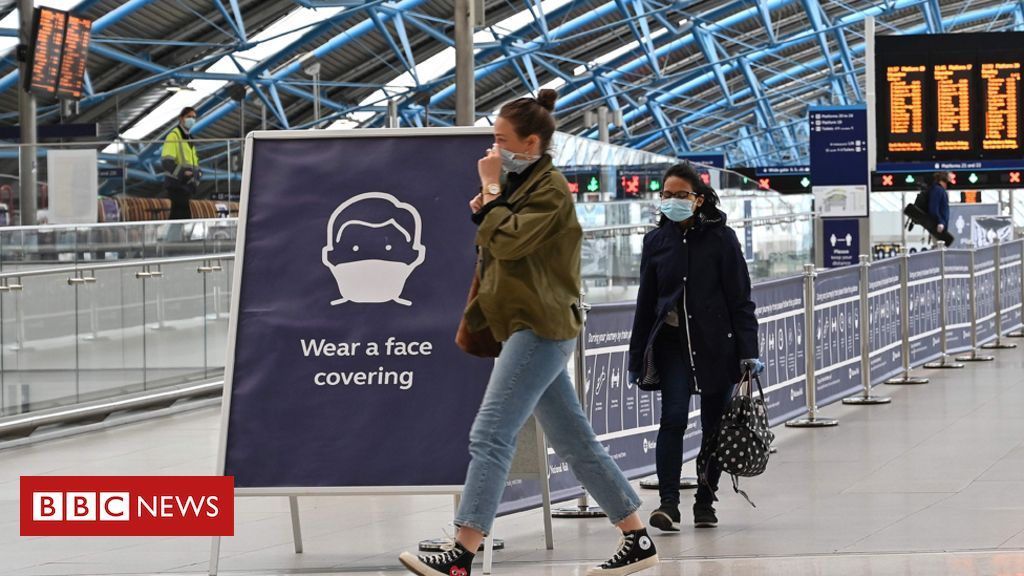 Coronavirus: Face coverings compulsory on public transport in England