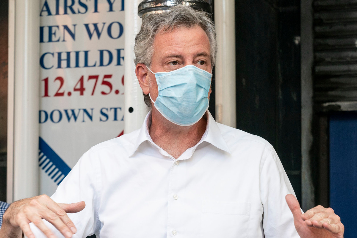 De Blasio could lay off 22,000 town workers in wake of coronavirus