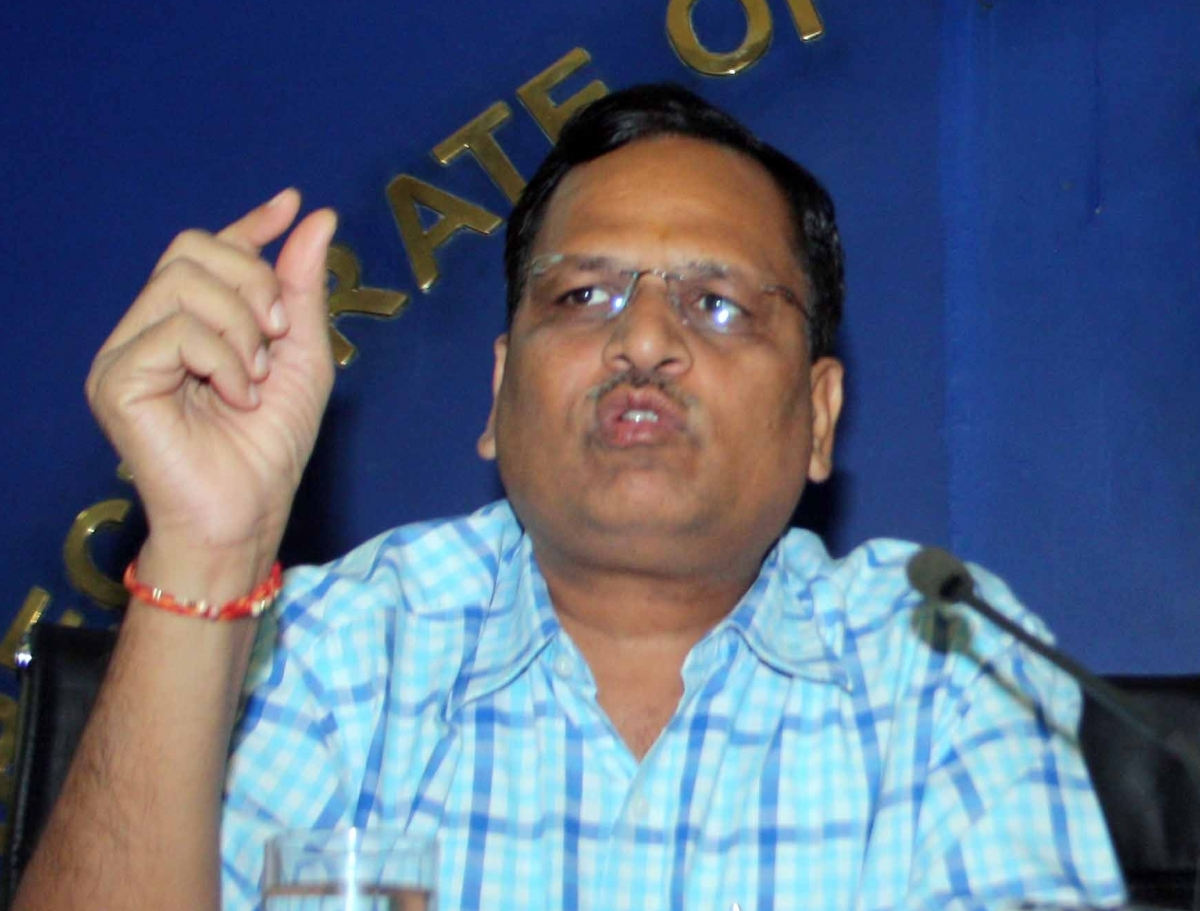 Delhi health minister Satyendar Jain given plasma therapy for Covid-19, health condition stable