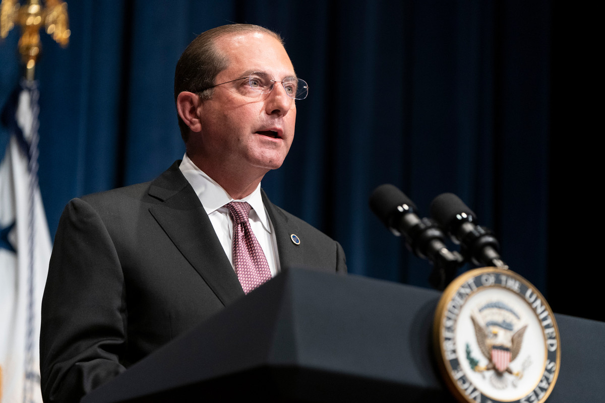HHS Sec. Azar states 'window is closing' to suppress coronavirus surge