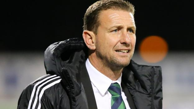 Ian Baraclough confirmed as new Northern Ireland manager