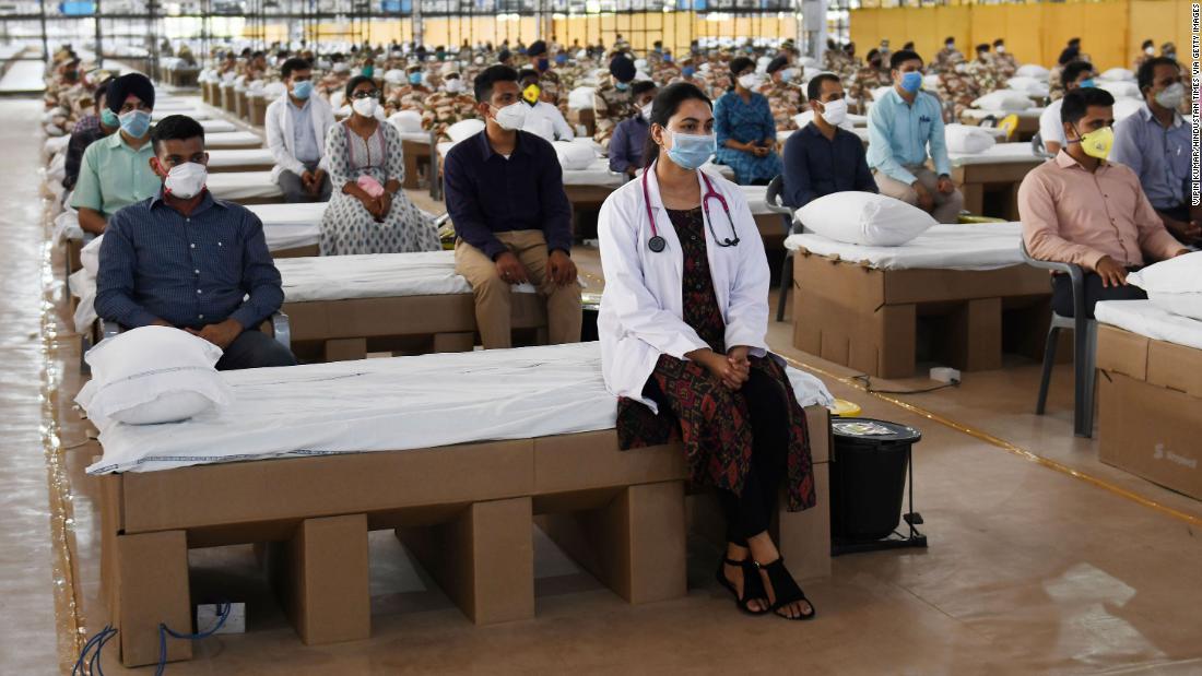 India coronavirus: Nation opens of one of the world's largest hospitals
