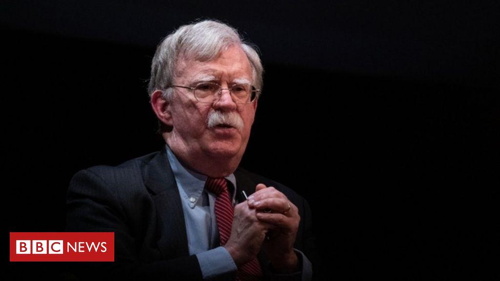 John Bolton: Trump administration sues to block ebook