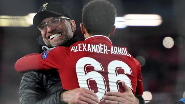 Jurgen Klopp will generally be distinctive to Liverpool – Trent Alexander-Arnold