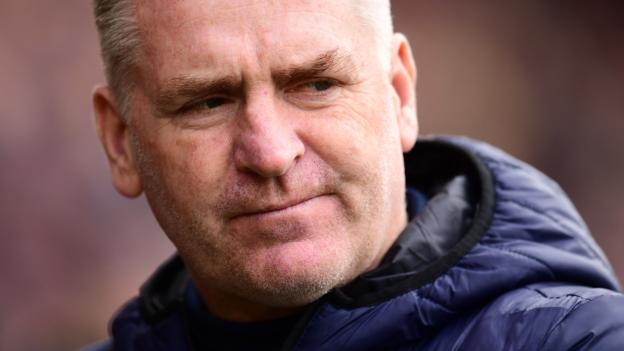 Premier League: Aston Villa boss Dean Smith says 'the eyes of the world will be on us'