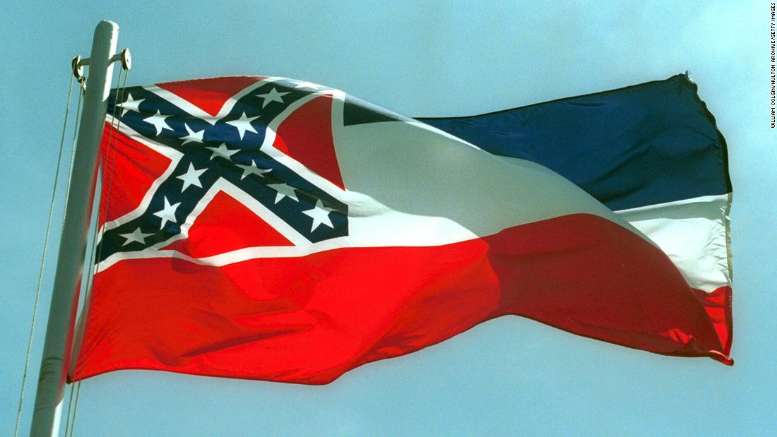 Mississippi point out flag: Legislature passes bill to improve condition flag