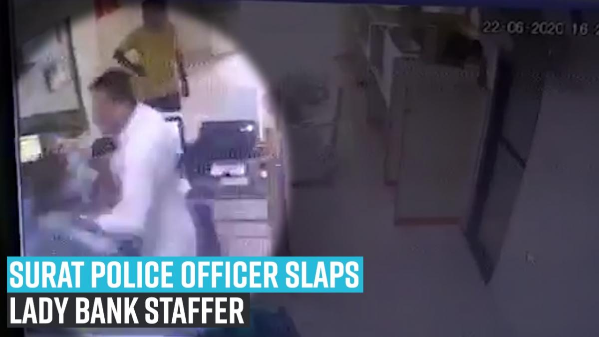 Movie: Girl lender staffer slapped, manhandled by Surat cop Nirmala Sitharaman says accused cop suspended