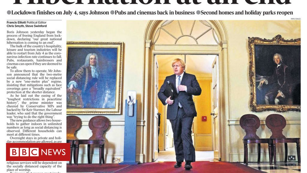 Newspaper headlines: 'End of hibernation' as scientists urge caution