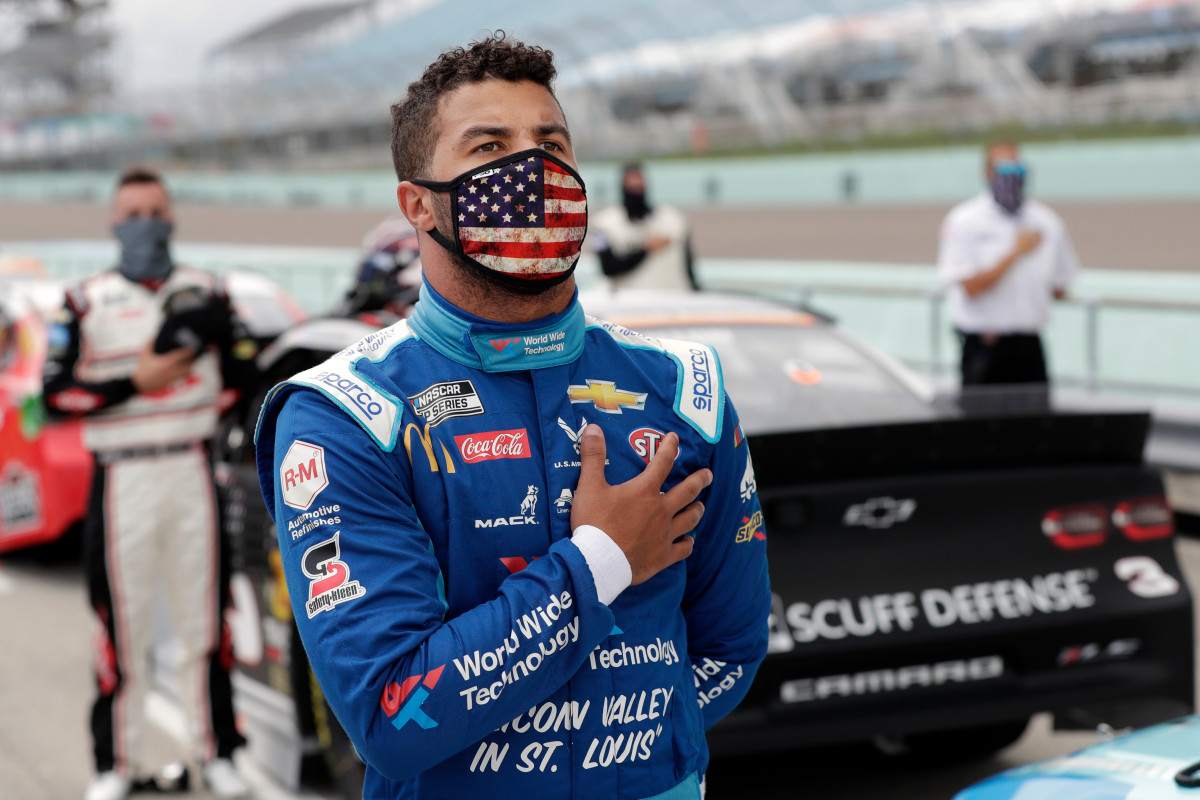 Noose observed within NASCAR driver Bubba Wallace's garage