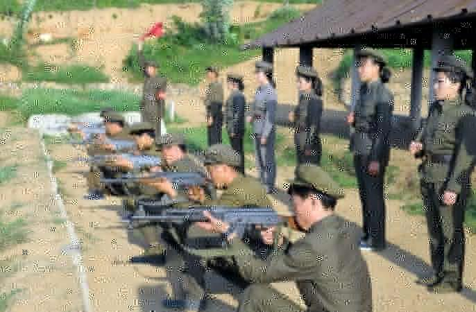 North Korea South korea