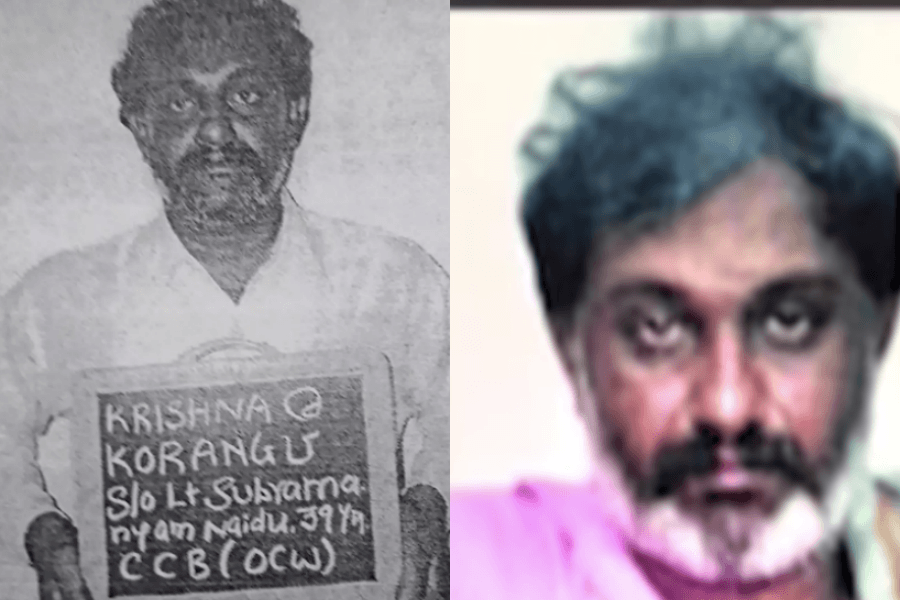 Notorious Rowdy Korangu passes absent because of to health issues in Andhra Pradesh