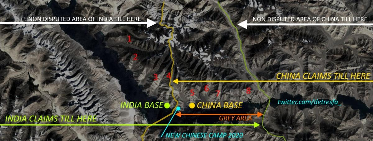 Pangong standoff: China