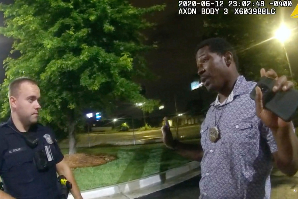 Rayshard Brooks experienced chat with Atlanta cops just before lethal taking pictures
