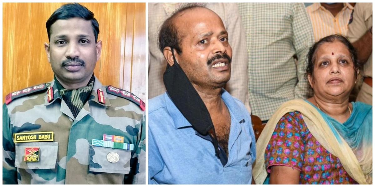 'Sad but proud that he gave up his life for the nation': Parents of Col Santosh Babu on their son martyred during India-China faceoff
