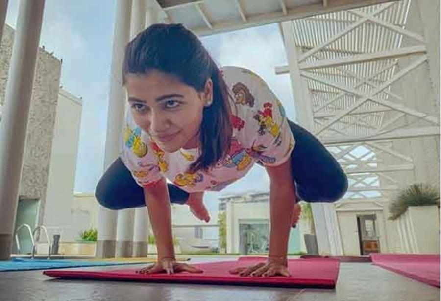 Samantha Akkineni reveals reason she loves yoga