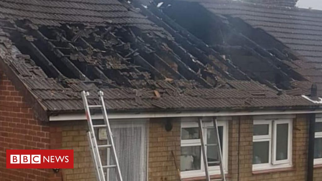 Sandiacre household unaware of lightning strike roof hearth saved by neighbour