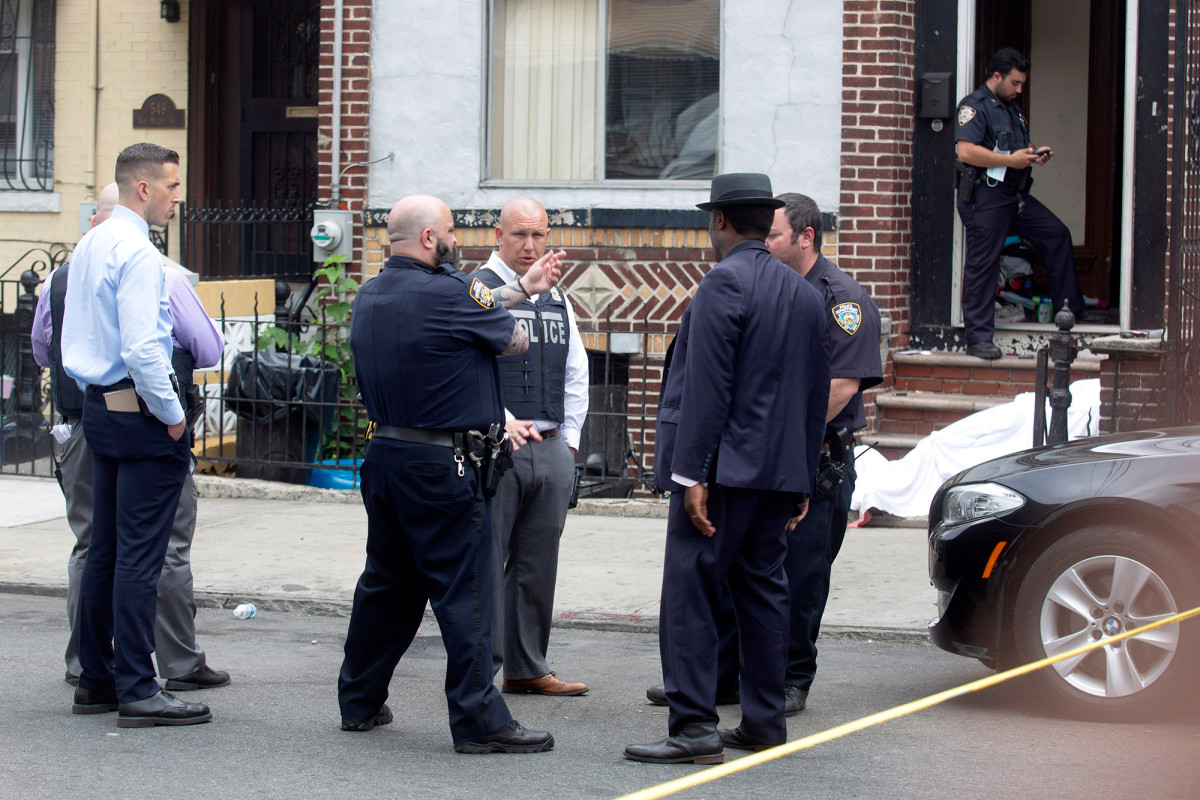 Shootings spike across NYC leaving 2 dead and at least 17 hurt