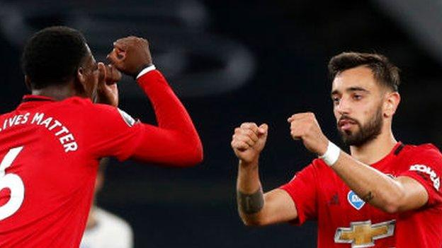 Tottenham Hotspur 1-1 Manchester United: Bruno Fernandes' late penalty earns readers attract