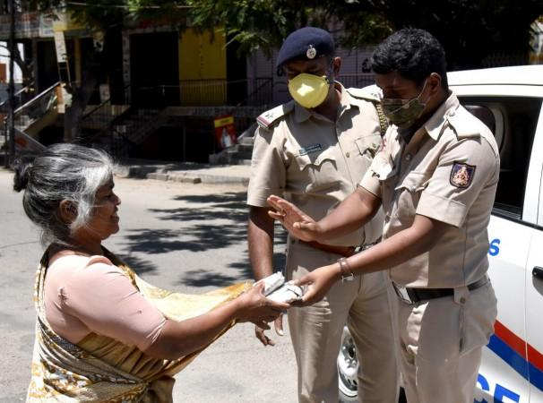 Bengaluru police extends support to the needy