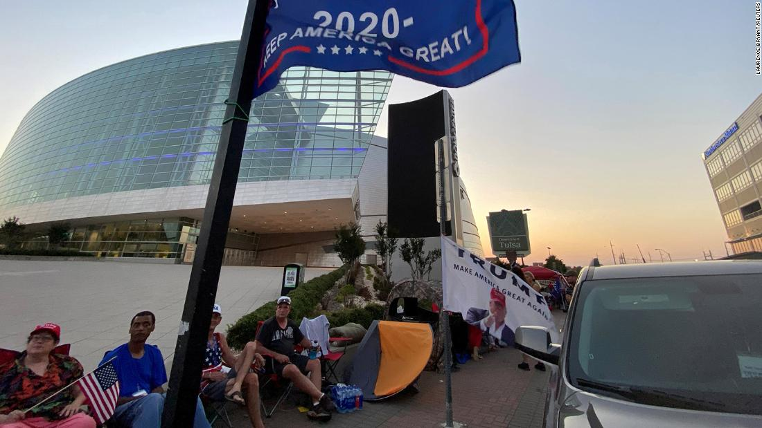 Tulsa rally: Trump tempts fate during pandemic while threatening protesters