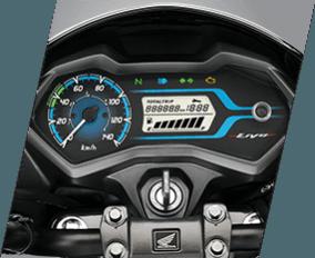 Honda Livo digital analogue meter