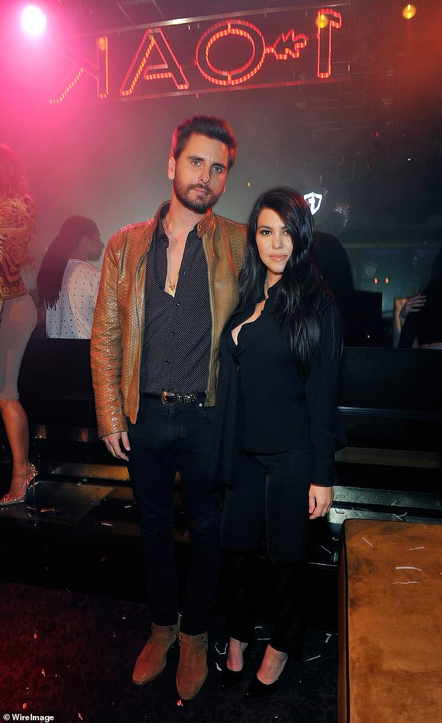 Longtime loves: Scott and Kourtney dated on and off from 2006 to 2015 and according to an Us Weekly source, he'll always have feelings for her