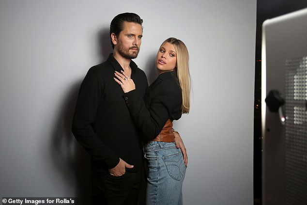 Reconciliation? Sofia and Scott - pictured in February - started dating in the fall of 2017. They spent Saturday together in Malibu celebrating Fourth of July with friends