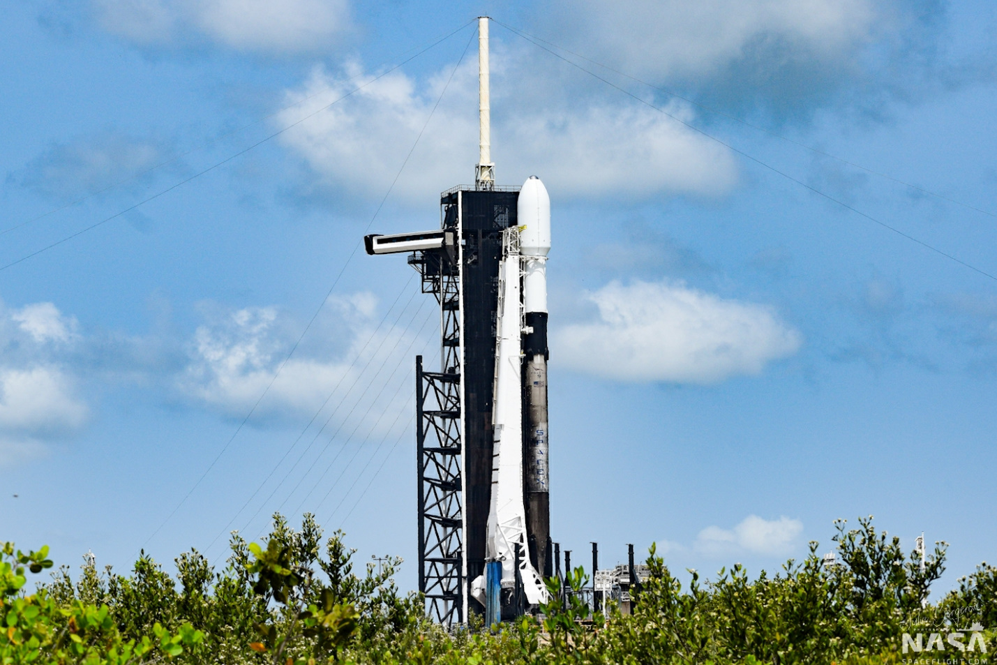 SpaceX scrubs Starlink v1.0 L9 mission
