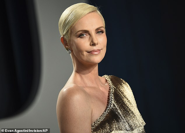 Snubbed: Theron revealed that she's surprisingly never been approached for an MCU role: 'I swear to God. I've never gotten anything. No, I'm not lying to you. But that's okay' (pictured in February, 2020)