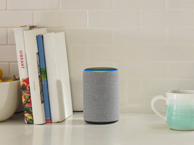 The Amazon Echo Plus.