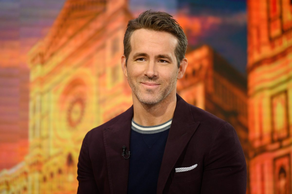 Ryan Reynolds on TODAY