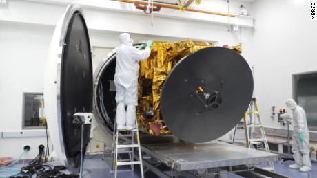 Approximately 450 engineers and technicians worked on the Hope probe for six years.