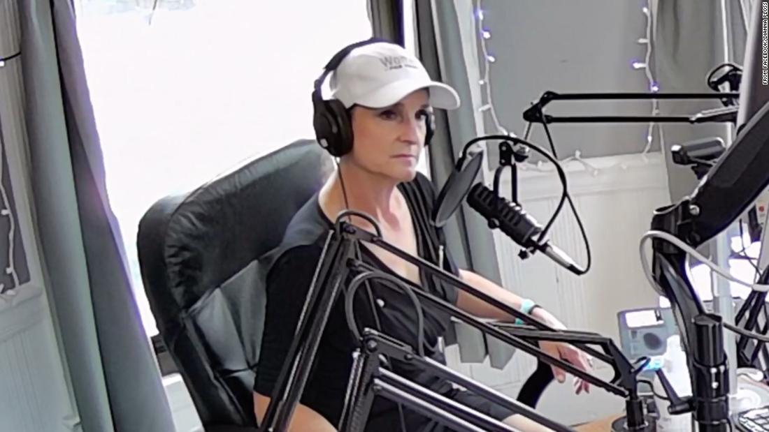 A New Hampshire radio station cuts ties with conservative host after she filmed herself yelling at landscapers for speaking Spanish