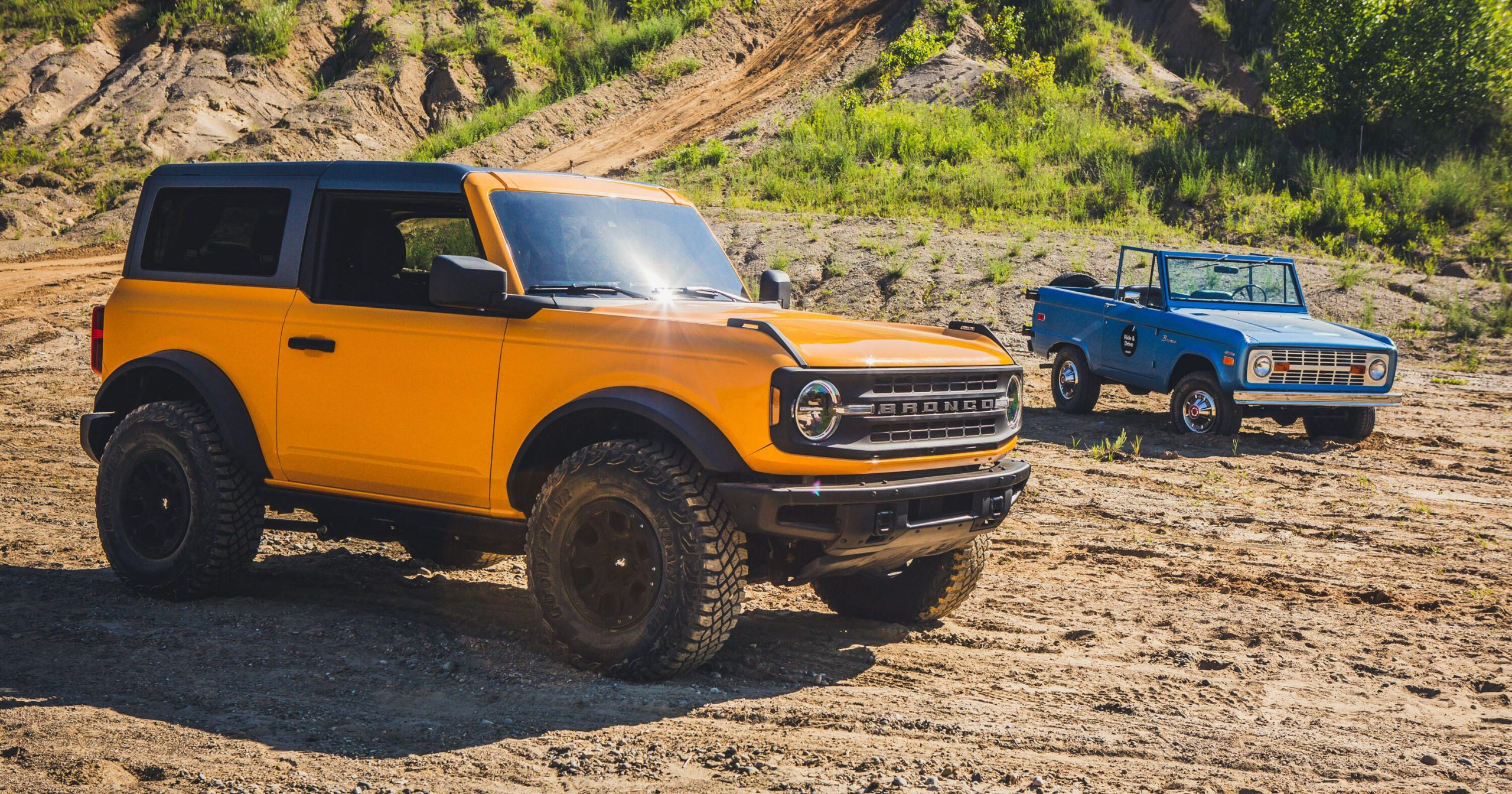 2021 Ford Bronco vs. the original first-gen: Oh, how far we've come