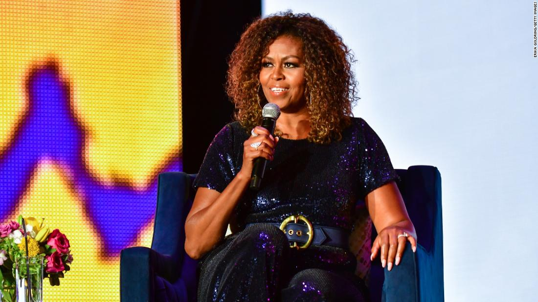Michelle Obama is launching a podcast on Spotify