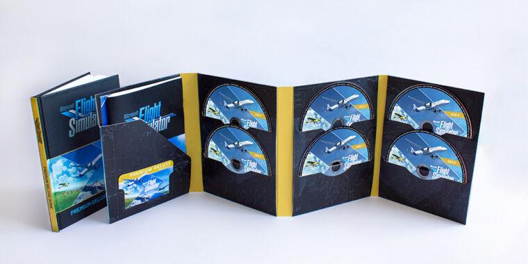 Please insert disc: Microsoft Flight Simulator will spread across ten DVDs
