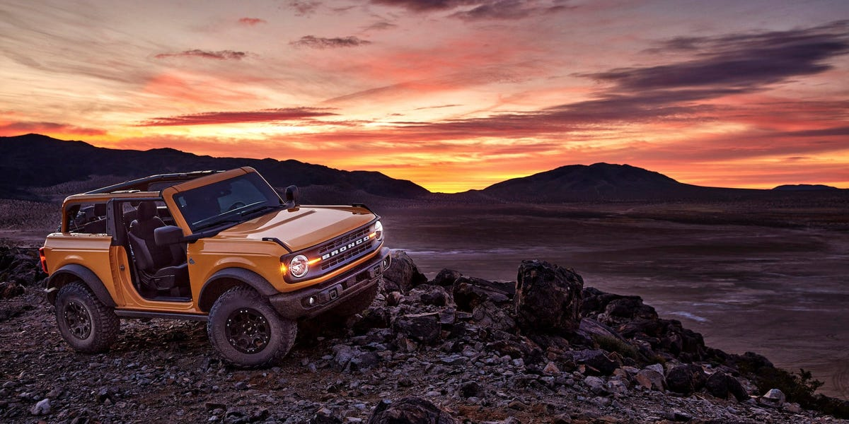 2021 Ford Bronco site crashed as reservations opened