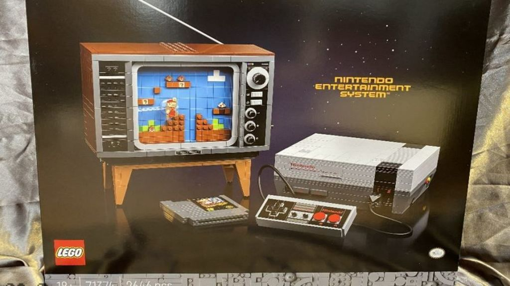 A Lego NES console set is releasing, and the first teaser trailer is already here