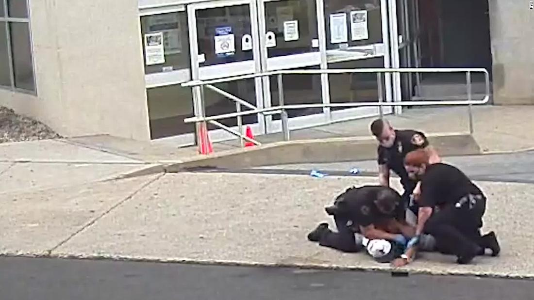 Allentown police officer seen kneeling on man's neck won't face charges, prosecutors say